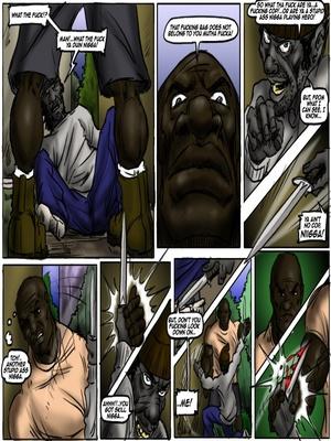 Interracial Comics Maryland- Adventures of Big Mack Porn Comic 03