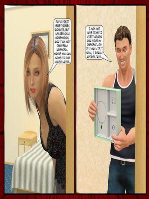 3D Porn Comics Mazut- The Present Porn Comic 06