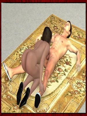 3D Porn Comics Mazut- The Ritual Porn Comic 19