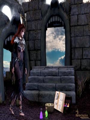 Porn Comics - 3D : Merovingian- The Summoner Porn Comico