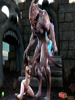 3D Porn Comics Merovingian- The Summoner Porn Comic 11