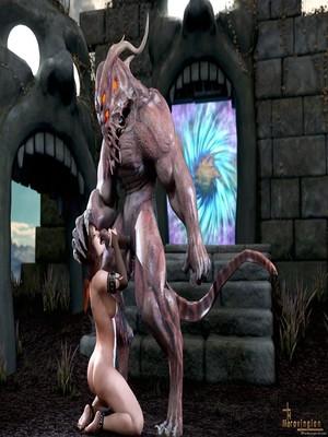3D Porn Comics Merovingian- The Summoner Porn Comic 12