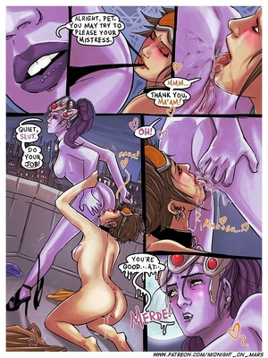 Adult Comics Midnight On Mars – Deja View – Overwatch Porn Comic 05