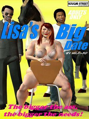 Porn Comics - Milf-3D – Lisa's Big Date free Porn Comic