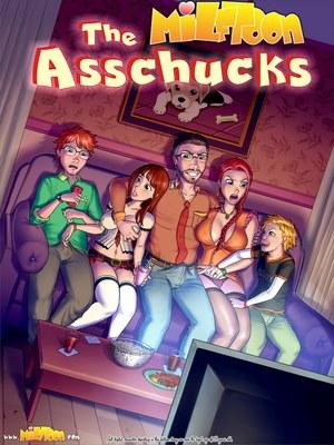 Porn Comics - The Asschucks Chapter 01 Milftoons Comic