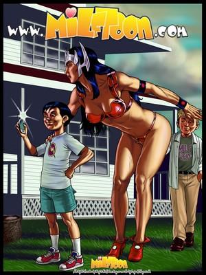 Milftoon Comics Milftoon- Big Barba Porn Comic 01