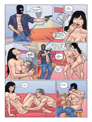 Milftoon Comics Milftoon- Burglar Porn Comic 02