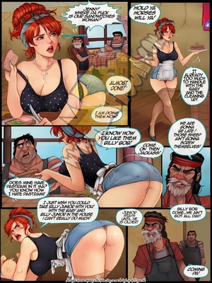 Milftoon Comics Milftoon- Redneck Age Porn Comic 02