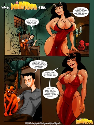 Porn Comics - Milftoons Comic –  Superfucktural