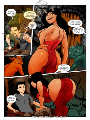 Milftoon Comics Milftoon- Superfucktural Porn Comic 02