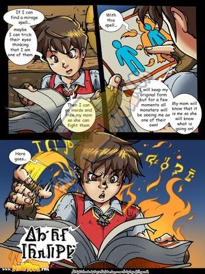 Milftoon Comics Milftoon-The Milfcher Porn Comic 04