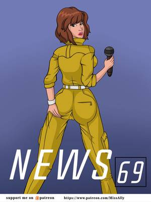 Porn Comics - Miss Ally- News 69 free Porn Comic
