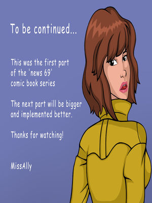 Miss Ally- News 69 free Porn Comic