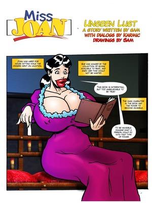 Porn Comics - Adult – Miss Joan- Unseen Lust Porn Comic