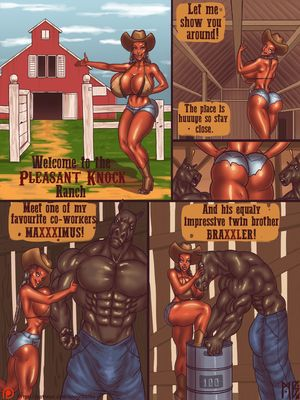 Porn Comics - Mnogobatko- Welcome To The Pleasent Knock Ranch free Porn Comic