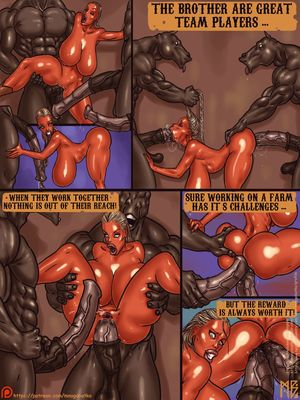 Mnogobatko- Welcome To The Pleasent Knock Ranch free Porn Comic sex 03