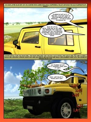 3D Porn Comics Moiarte- Africanized 3 Porn Comic 12