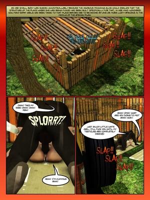 3D Porn Comics Moiarte- Africanized 3 Porn Comic 13