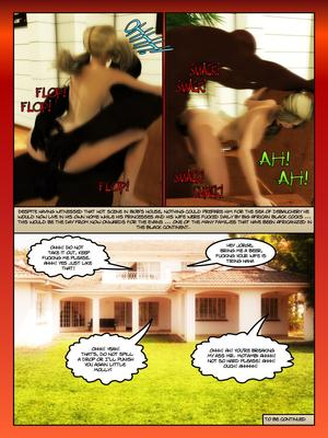 Moiarte- Africanized 3 free Porn Comic
