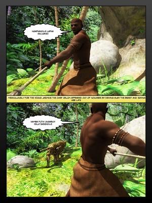 3D Porn Comics Moiarte- Africanized 4 Porn Comic 09