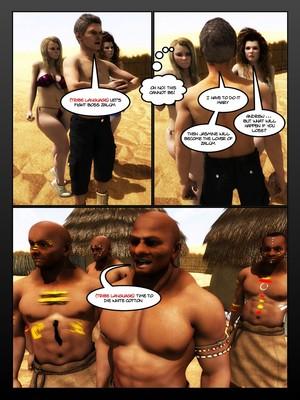 3D Porn Comics Moiarte- Africanized 4 Porn Comic 13
