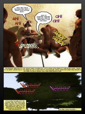 3D Porn Comics Moiarte- Africanized 4 Porn Comic 32