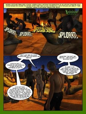 3D Porn Comics Moiarte- Africanized V Porn Comic 04