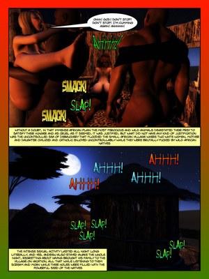 3D Porn Comics Moiarte- Africanized V Porn Comic 09