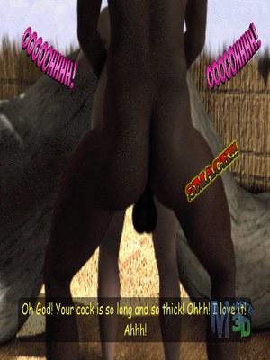3D Porn Comics Moiarte- Africanized V Porn Comic 15