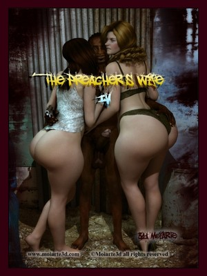 3D Porn Comics Moiarte- The Preacher's Wife 4 Porn Comic 01