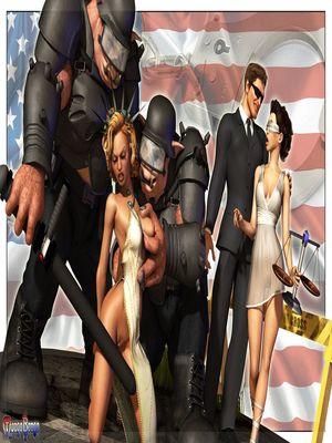 3D Porn Comics Mongo Bongo- Police State Porn Comic 02