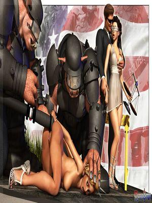 3D Porn Comics Mongo Bongo- Police State Porn Comic 04
