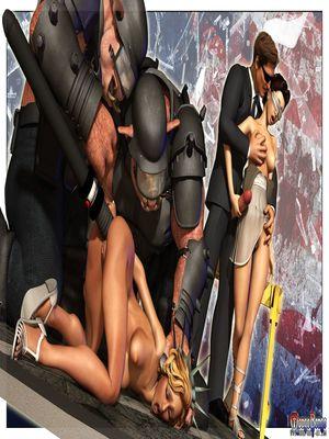 3D Porn Comics Mongo Bongo- Police State Porn Comic 07