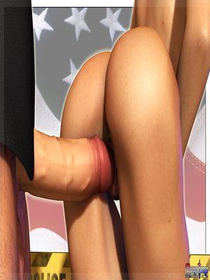 3D Porn Comics Mongo Bongo- Police State Porn Comic 10
