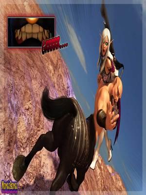 3D Porn Comics Mongobongo- Warcraft Belf- Centaur Porn Comic 02