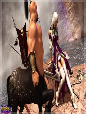3D Porn Comics Mongobongo- Warcraft Belf- Centaur Porn Comic 04