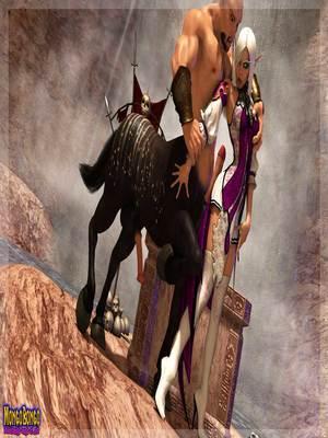 3D Porn Comics Mongobongo- Warcraft Belf- Centaur Porn Comic 05