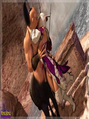 3D Porn Comics Mongobongo- Warcraft Belf- Centaur Porn Comic 06