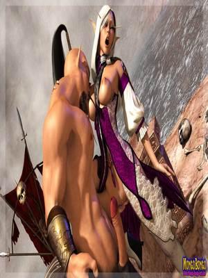 3D Porn Comics Mongobongo- Warcraft Belf- Centaur Porn Comic 07