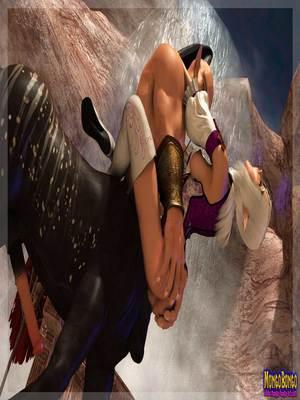 3D Porn Comics Mongobongo- Warcraft Belf- Centaur Porn Comic 12