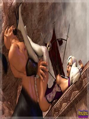 3D Porn Comics Mongobongo- Warcraft Belf- Centaur Porn Comic 15