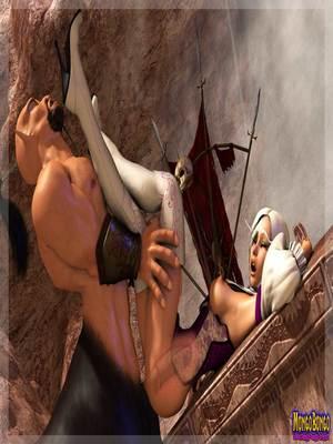3D Porn Comics Mongobongo- Warcraft Belf- Centaur Porn Comic 16