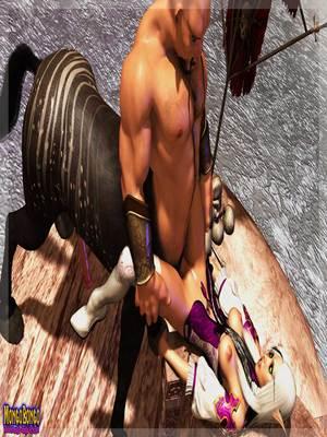 3D Porn Comics Mongobongo- Warcraft Belf- Centaur Porn Comic 17