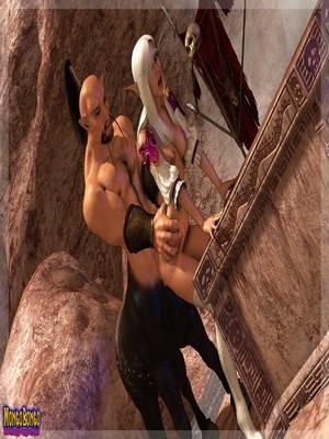 3D Porn Comics Mongobongo- Warcraft Belf- Centaur Porn Comic 25