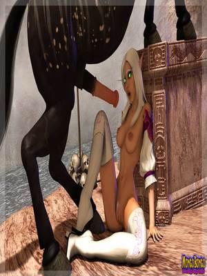 3D Porn Comics Mongobongo- Warcraft Belf- Centaur Porn Comic 34