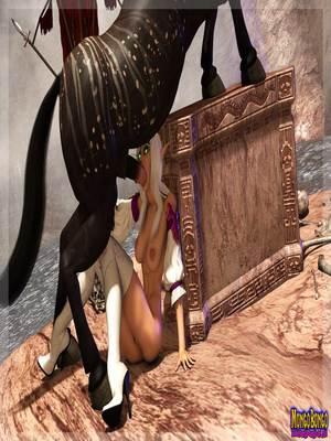 3D Porn Comics Mongobongo- Warcraft Belf- Centaur Porn Comic 35