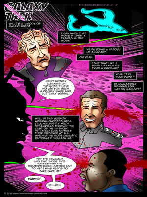 Porn Comics - Monsterbabe Central- Galaxy Trek free Porn Comic