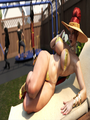 3D Porn Comics Morgan – Playground Fun- Zz2tommy Porn Comic 05
