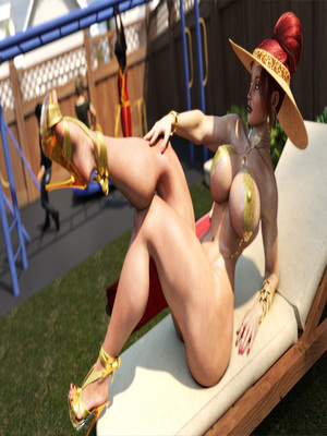 3D Porn Comics Morgan – Playground Fun- Zz2tommy Porn Comic 09
