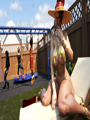 3D Porn Comics Morgan – Playground Fun- Zz2tommy Porn Comic 11